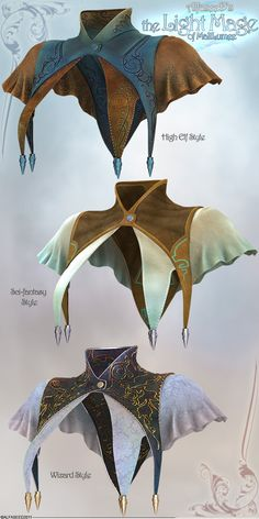 the Light Mage - Top Detail by Aeon--Soul on deviantART Will have to draft out something like this. Neat concept.