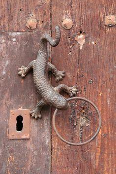 door pull in frgiliana, spain by sandwarrior, via Flickr