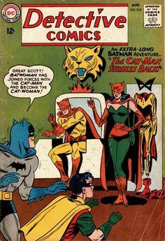 Detective Comics #318, Batwoman becomes the 1st Catwoman!