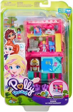 Polly Pocket - Pollyville Store - Styles May Vary Poly Pocket, Polly Pocket Dolls, Fun Stories, Decorative Stickers, Birthday Wishes For Myself, Barbie Birthday, Barbie Toys, Cool Inventions, Christmas Makes