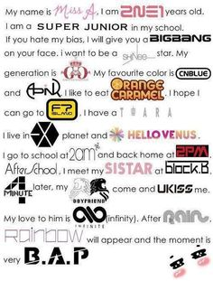 I like Bigbang, Super Junior, Shinee and Exo ♥♥♥♥ 2am Kpop, Kpop Boy, Block B, Super Junior Logo, Cnblue, Kaisoo, Vixx, Girls Generation, K Pop