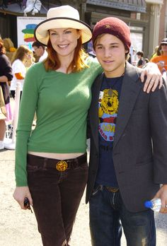 Desperate Housewives: Marcia Cross and Shawn Pyfrom