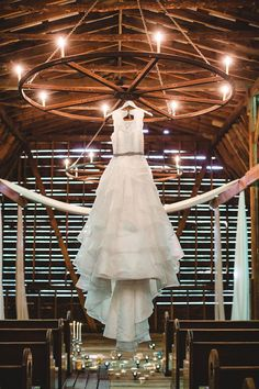 Barn Wedding Inspiration // wedding dress photography