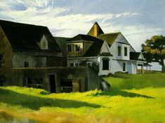 "Edward Hopper (1882-1967) "" Cape Cod Afternoon.""  Aux Amidonniers Toulouse"