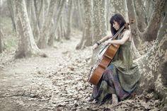 Play the cello....