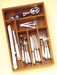 Lipper International Bamboo Flatware Organizer Quick Information Silverware Tray, Flatware Storage, Utensils, Kitchen Drawer Organization, Kitchen Drawers, Kitchen Storage, Storage Organization, Storage Ideas, Houses