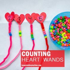 Heart Counting - HAPPY TODDLER PLAYTIME
