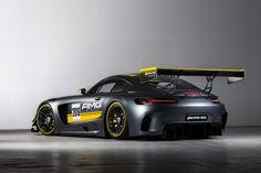 The Mercedes-AMG GT3 is powered by a 6.3-liter V8 derived from the engine from the SLS AMG GT3