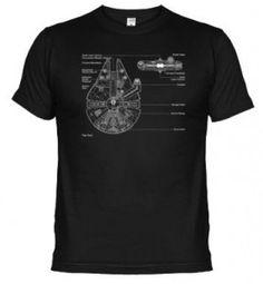 Camiseta Halcón Milenario