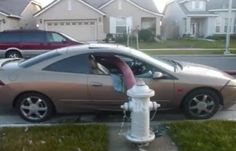 Why You Should Never Park In Front Of A Fire Hydrant