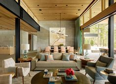 Mountain residence located in Martis Camp, Truckee, California, designed in 2016 by Kelly Hohla Interiors. Custom Furniture, Contemporary Furniture, California Camping, Truckee California, English Antique Furniture, Colonial Style Homes, Historic Homes, Great Rooms, Modern Farmhouse