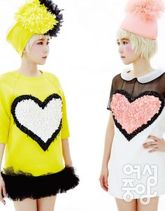 Crayon Pop Identical Twins Way and Choa