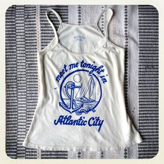 "Whipped Cream ""Atlantic City"" Tank"