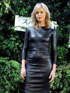 charlize theron outfits best outfits - Page 77 of 100 - Celebrity Style and Fashion Trends Charlize Theron, Latex Fashion, Fashion Models, Hot Outfits, Tight Dresses, Sensual, Lady, Sexy Women, Celebs
