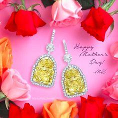 #jewelry #finejewelry #diamonds #yellowdiamond #earrings #luxury #MartinKatz #MartinKatzJewels