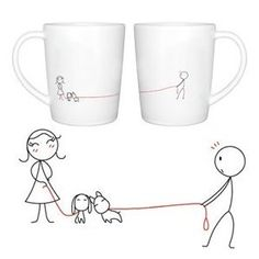 """BoldLoft """"We Belong Together"""" Couple Coffee Mugs-Romantic Valentine's Day Gifts for Couples,Cute Valentines Gifts for Him or Her,Romantic Anniversary Gifts Price: $27.00"""