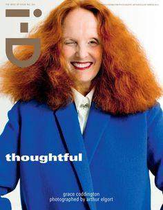 Grace Coddington for i-D Magazine #322 Winter 2012