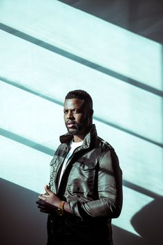 Portrait of Actor Winston Duke from Marvel's The Black Panther photographed in Los Angeles California by Celebrity and Fashion Photographer Samantha Annis