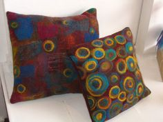 Fabulous Felt Cushions at Frost Fair