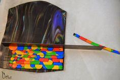 TUTO bargello con círculos - Arcilla polimérica, polymer clay   UCHI