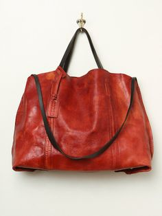Old Trend Dip Dye Leather Tote at Free People Clothing Boutique