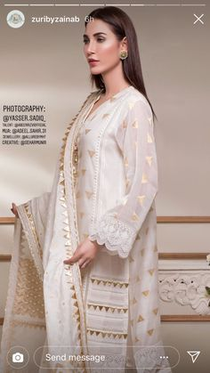 Cheap High Fashion Women S Clothing Product Pakistani Formal Dresses, Pakistani Dress Design, Pakistani Outfits, Indian Dresses, Eid Outfits, Stylish Dresses, Simple Dresses, Casual Dresses, Frock Fashion
