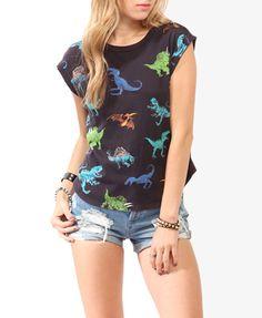 Omg! I want a dinosaur shirt!!