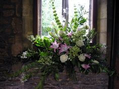 church flowers england | In churches we can design arrangements for the altar, font and window ...