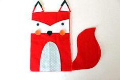 fox plushie - free pattern