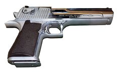 Desert Eagle pistol, chambered in .357 magnum, .44 magnum and .50 AE