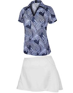 Sporty Monterey Club Ladies & Plus Size Golf Outfit #LorisGolfShoppe