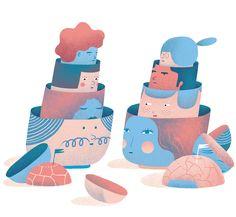 Marina Muun, Illustration