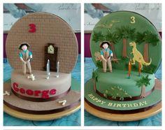 Andy's Dinosaur Adventures cake - Cake by Catherine