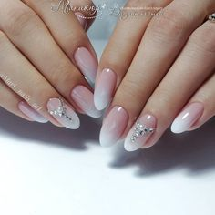 The most fashionable nail ideas to try in early /div div class='wp-pagenavi' role='navigation' span class='pages'Photo 65 of class= Oval Nails, Silver Nails, 3d Nails, Bride Nails, Wedding Nails, Nagellack Trends, Stylish Nails, Nail Trends, Manicure And Pedicure