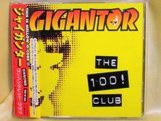 CD/Japan- GIGANTOR The 100 Club w/OBI RARE ORIGINAL 1998 VICP-60309 #PunkRock