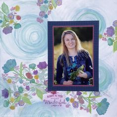 Just One Pretty Piece: PAPER GARDEN - September 2015 Stamp Of The Month Blog Hop
