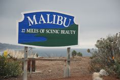 One of the World's best 27 miles of scenic beauty...Malibu, California