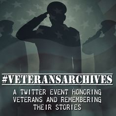 #HonoringVets with #VeteransArchives on Nov 11, 2014.  Each hours on Twitter (@geocmarshallfou), we will feature primary sources from a collection about a veteran.  #WWI #WWII #KoreanWar #VietnamWar