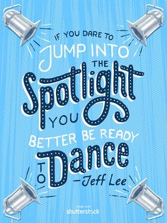 Zack Higgins Illustrations - If you dare to jump into the spotlight you better be ready to dance