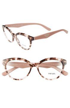Cool Glasses, New Glasses, Cat Eye Glasses, Glasses Online, Glasses Frames, Glasses Style, Prada Eyeglasses, Round Eyeglasses, Eyeglasses For Women
