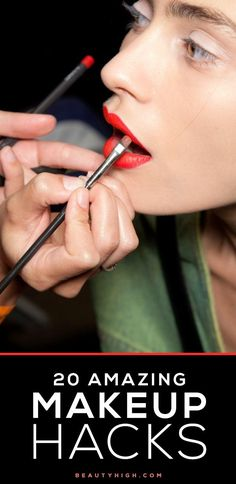 20 AMAZING makeup tips + tricks to try immediately