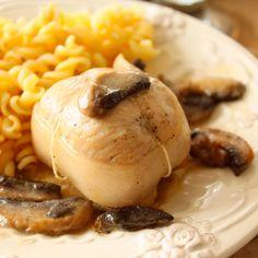 Découvrez la recette Paupiette de dinde forestière sur cuisineactuelle.fr.