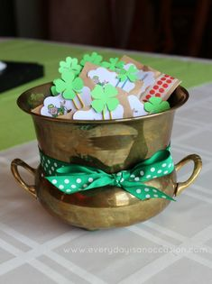 St. Patricks Day Kid Treat by Every Day is an Occasion