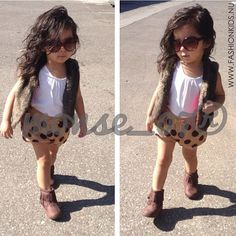#fashion #kids #style #pretty #outfit #baby #toddler #clothes #adorable #inspiration #clothes #polka #shorts