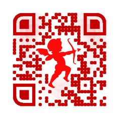 Cupid will help make you love #qrcodes