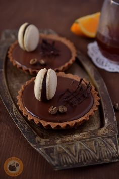 Orange & Kenya Kii coffee tartes