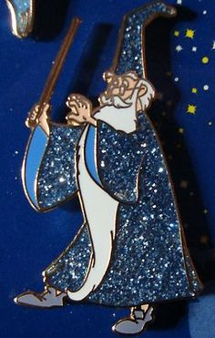 Merlin Magical Mystery LE 200  Disney Pin