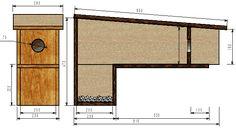 plan d 39 un nichoir en l pour chev che nichoirs pour chouettes pinterest. Black Bedroom Furniture Sets. Home Design Ideas