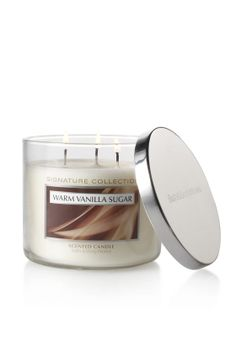 """Bath & Body Works Candle...my daughter and son-in-law gave me the scent """"Pumpkin Caramel Latte"""" for Christmas and I truly think that after years of using Yankee Candles, that this brand is better. Will be trying some of their other scents but with so many to choose from, it will be tough picking."""