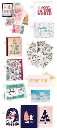 Happy Cactus Season's Greetings card featured on Holiday Cards – Part 1 - Design Crush